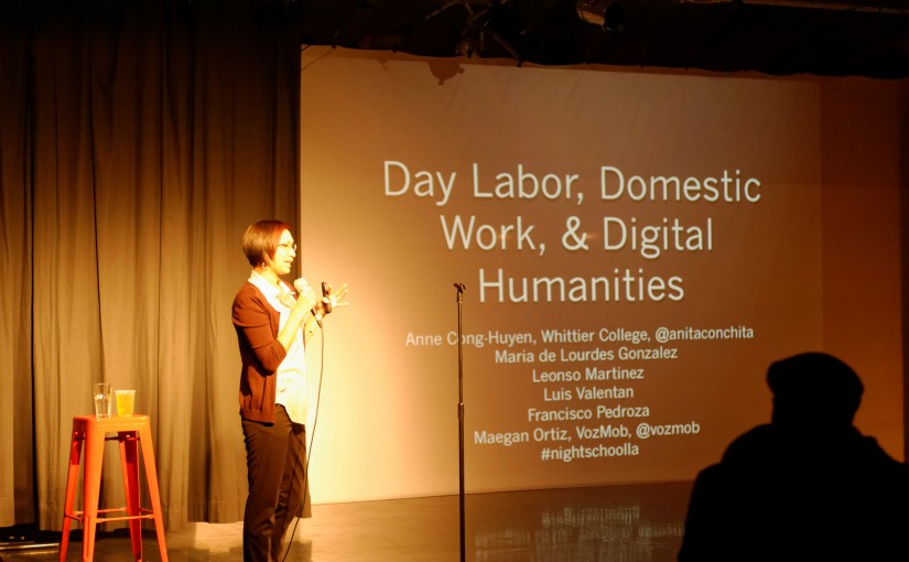 Me speaking at NightSchoolLA