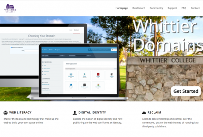 Screenshot Whittier.Domains