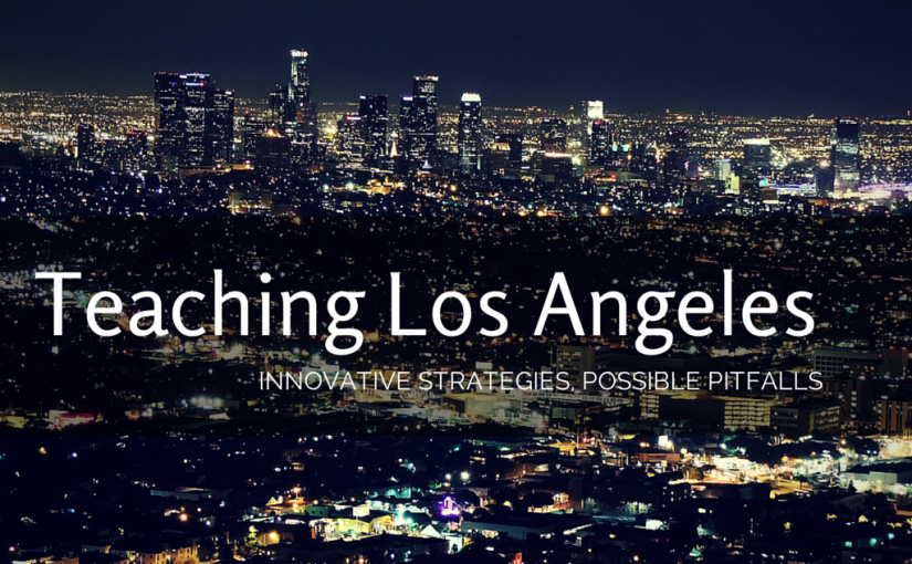 Teaching Los Angles Cover